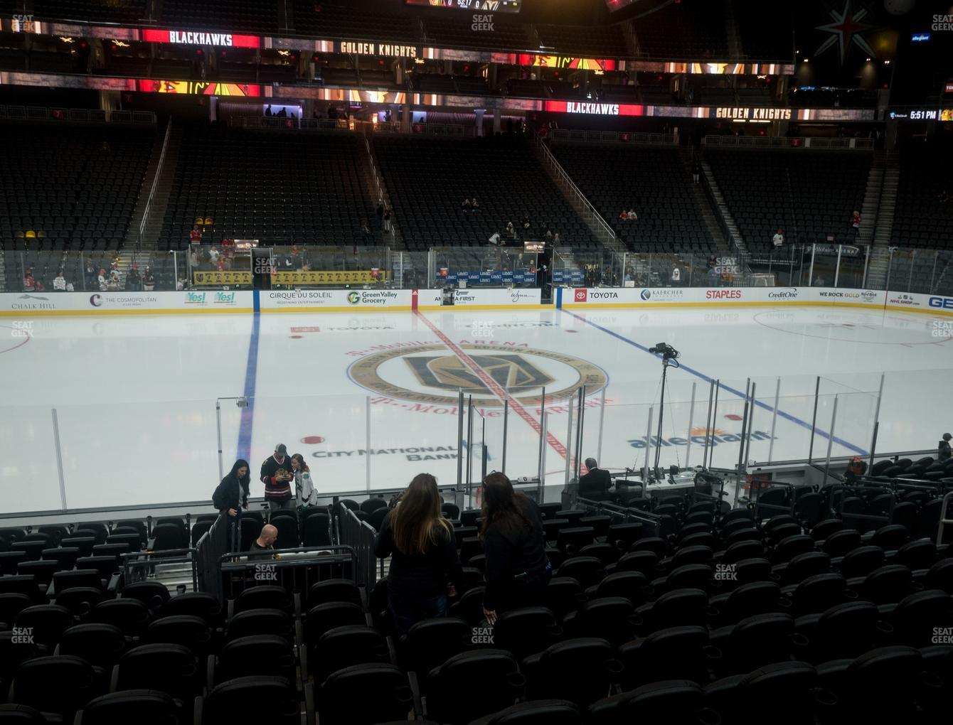 Vegas Golden Knights at T-Mobile Arena Section 15 View