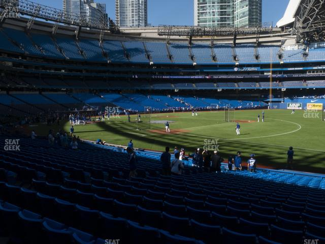 Rogers Centre Section 114 R view