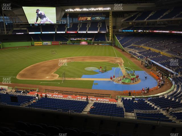 Marlins Park Section 219 view
