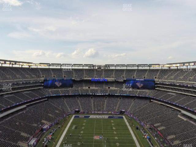 MetLife Stadium Section 326 view