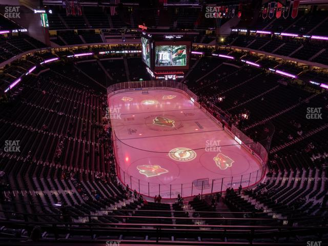 Xcel Energy Center Section 228 view