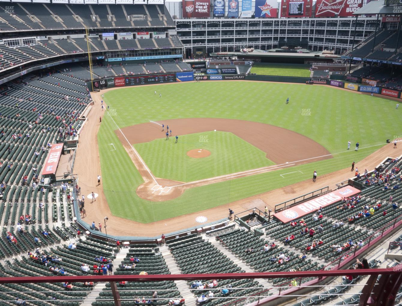 Concert at Globe Life Park Section 329 View