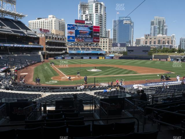 Petco Park Premier Club J view