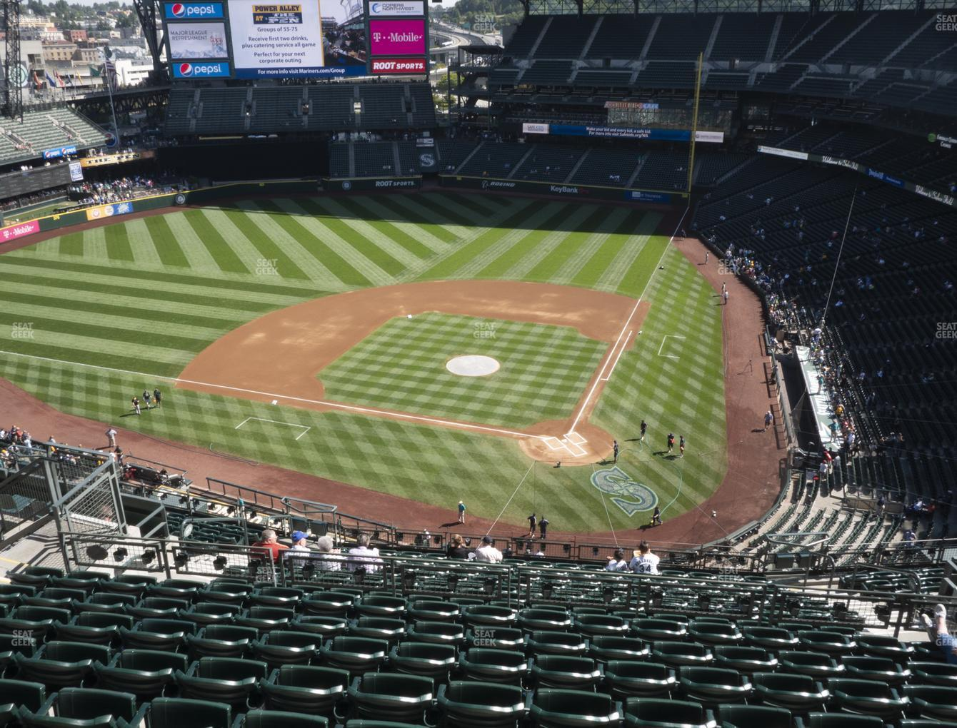 Seattle Mariners at T-Mobile Park Section 333 View