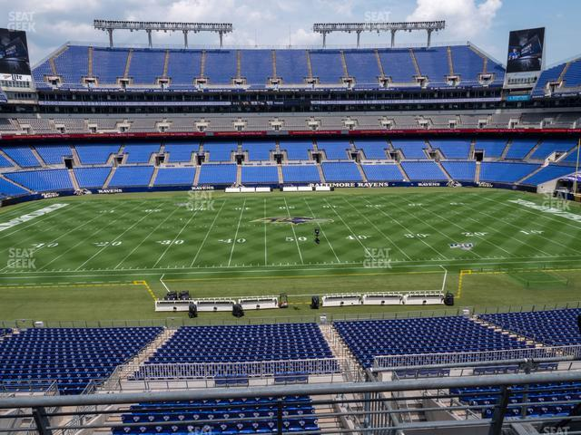 M&T Bank Stadium Section 227 view
