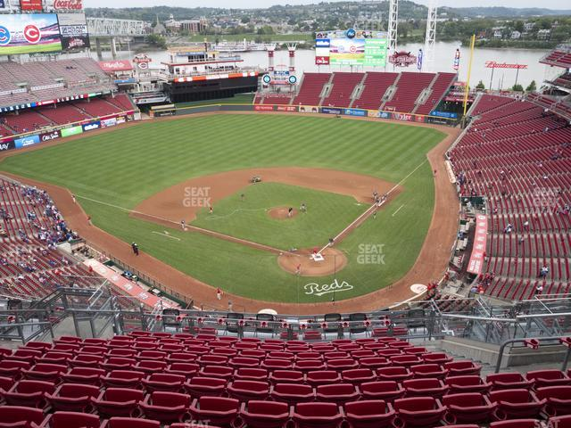 Great American Ball Park Section 522 view