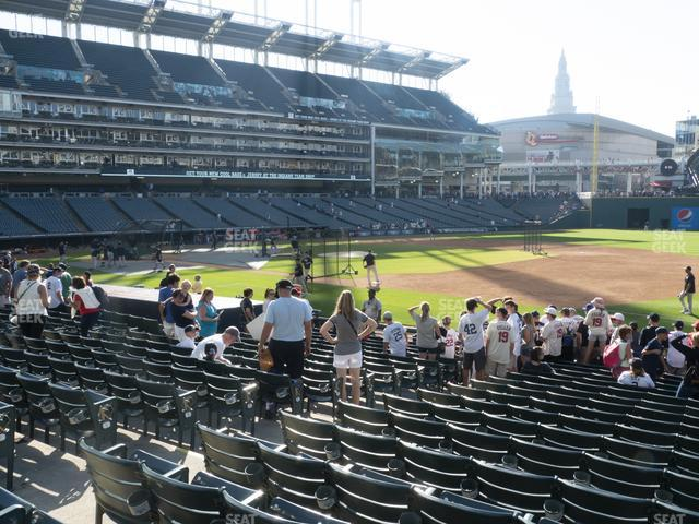 Progressive Field Section 136 view