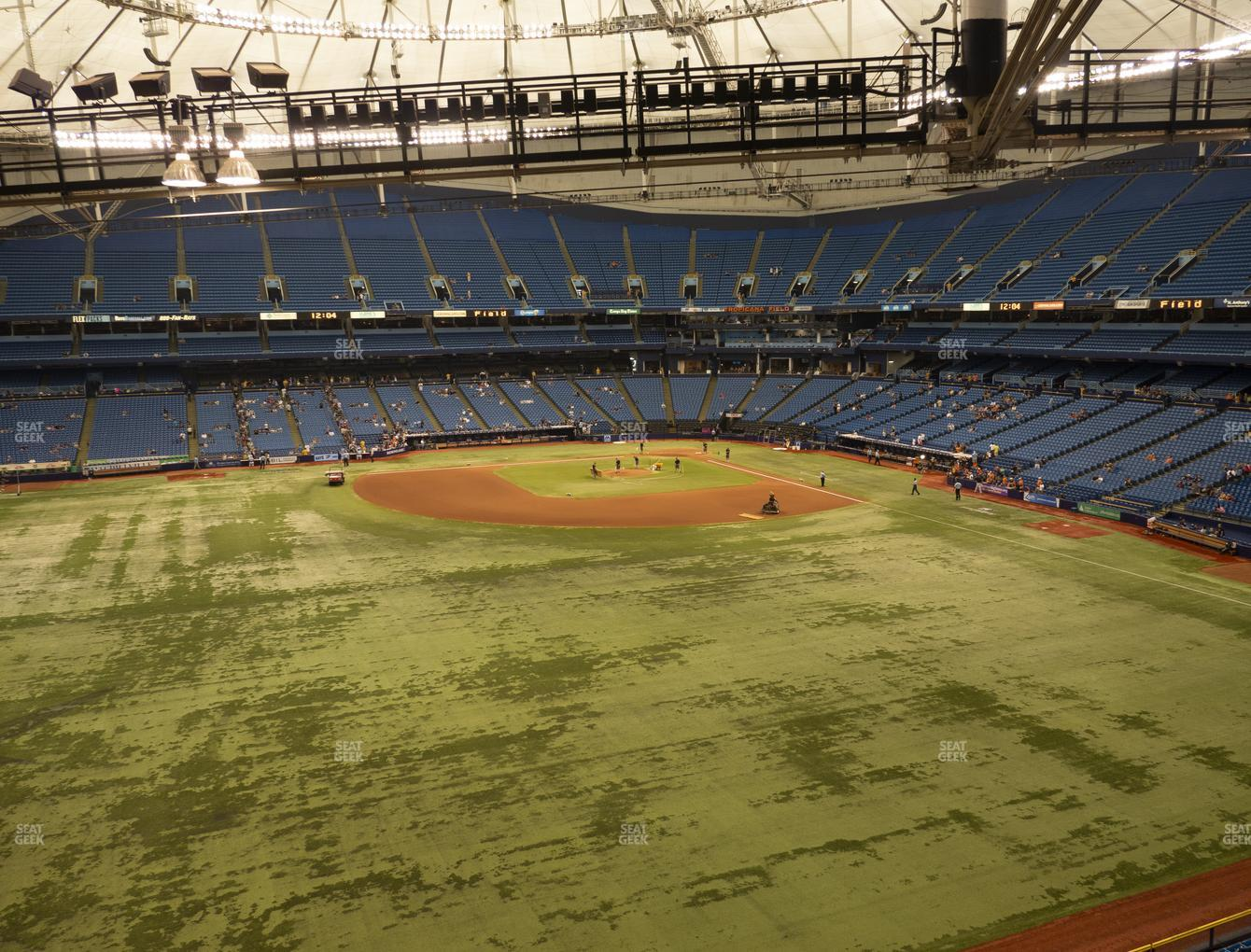 Tampa Bay Rays at Tropicana Field Section 355 View