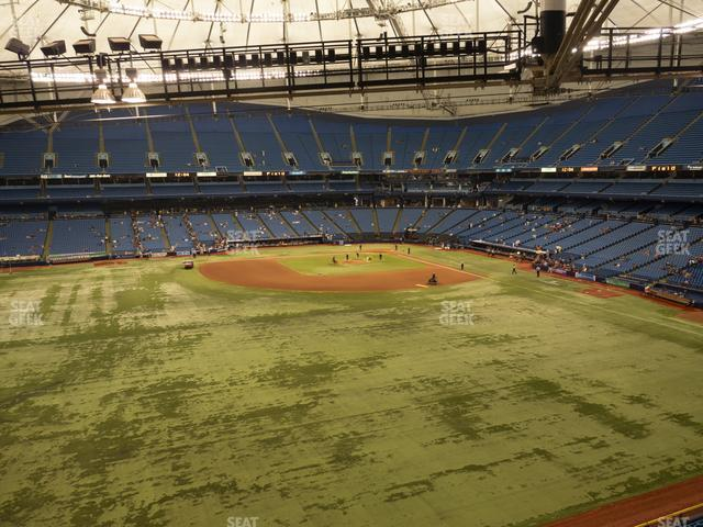 Tropicana Field Section 355 view