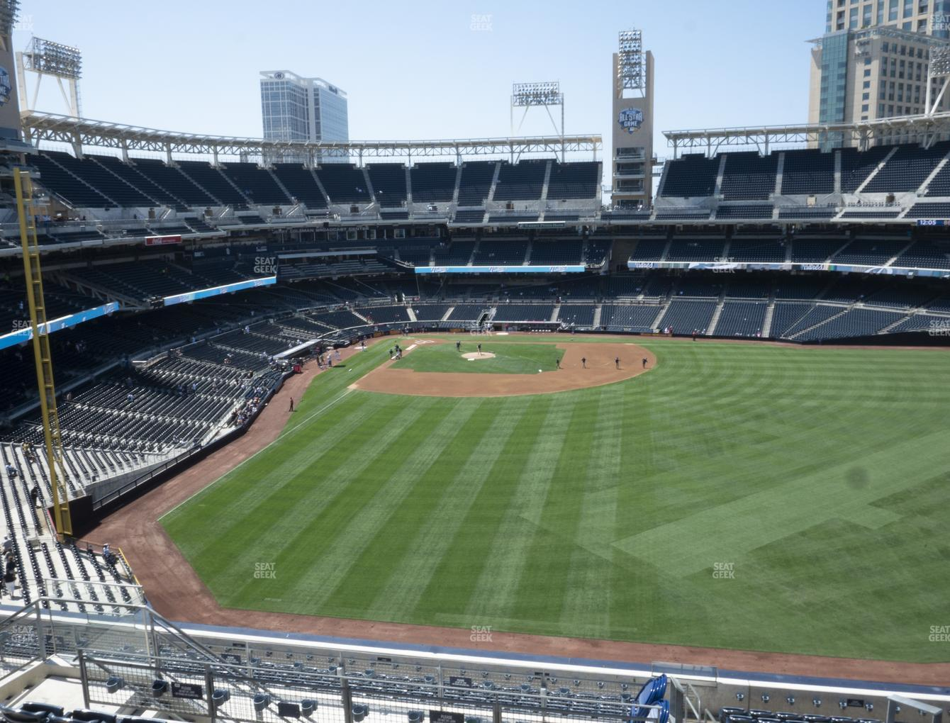 San Diego Padres at Petco Park Section 233 View