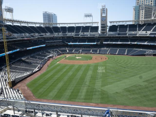 Petco Park Section 233 view