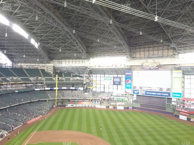 Miller Park Section 415 view
