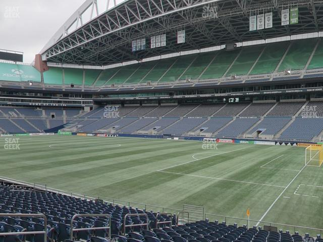 CenturyLink Field Section 104 view