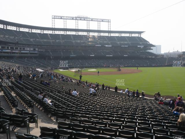 Coors Field Section 113 view