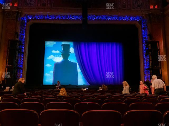 Saenger Theatre - New Orleans Orchestra Center view