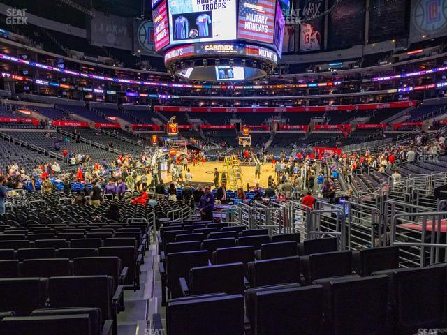 Staples Center Section 115 view