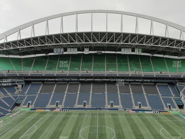 CenturyLink Field Lower 309 view