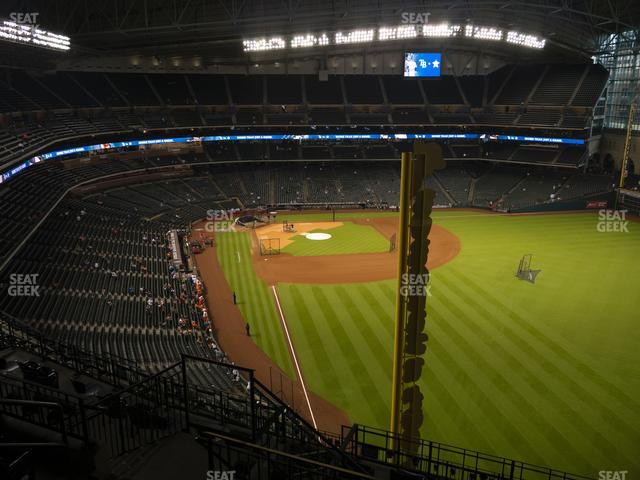 Minute Maid Park Section 437 view