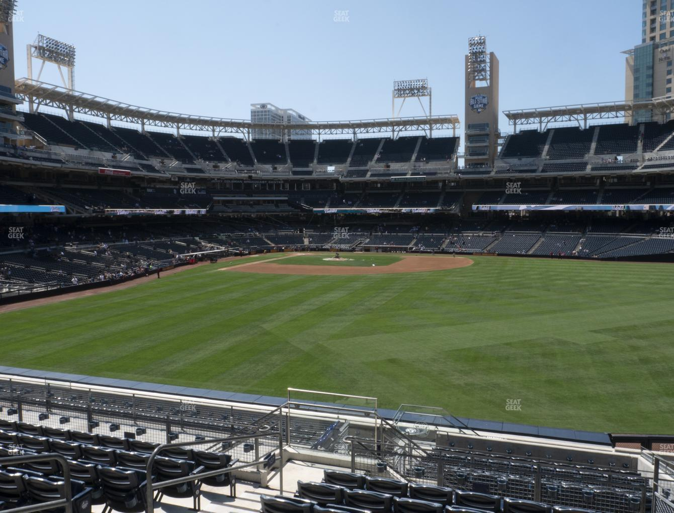San Diego Padres at Petco Park Section 137 View