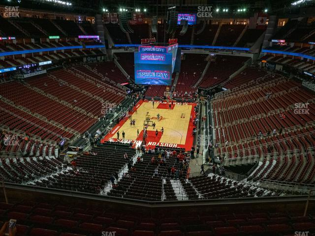 Toyota Center Section 417 view