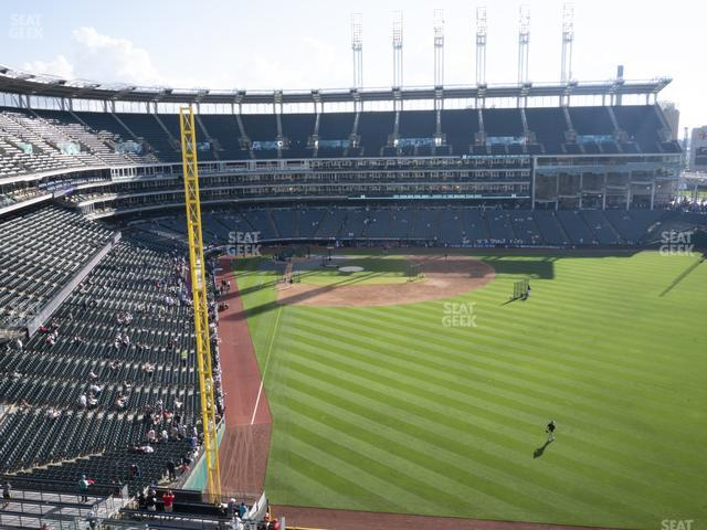 Progressive Field Section 413 view
