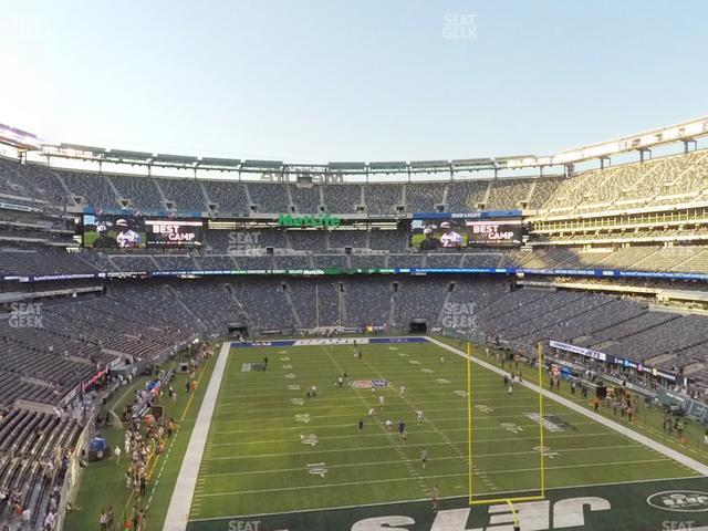 MetLife Stadium Section 228 A view