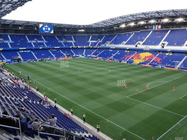 Red Bull Arena Section 205 view