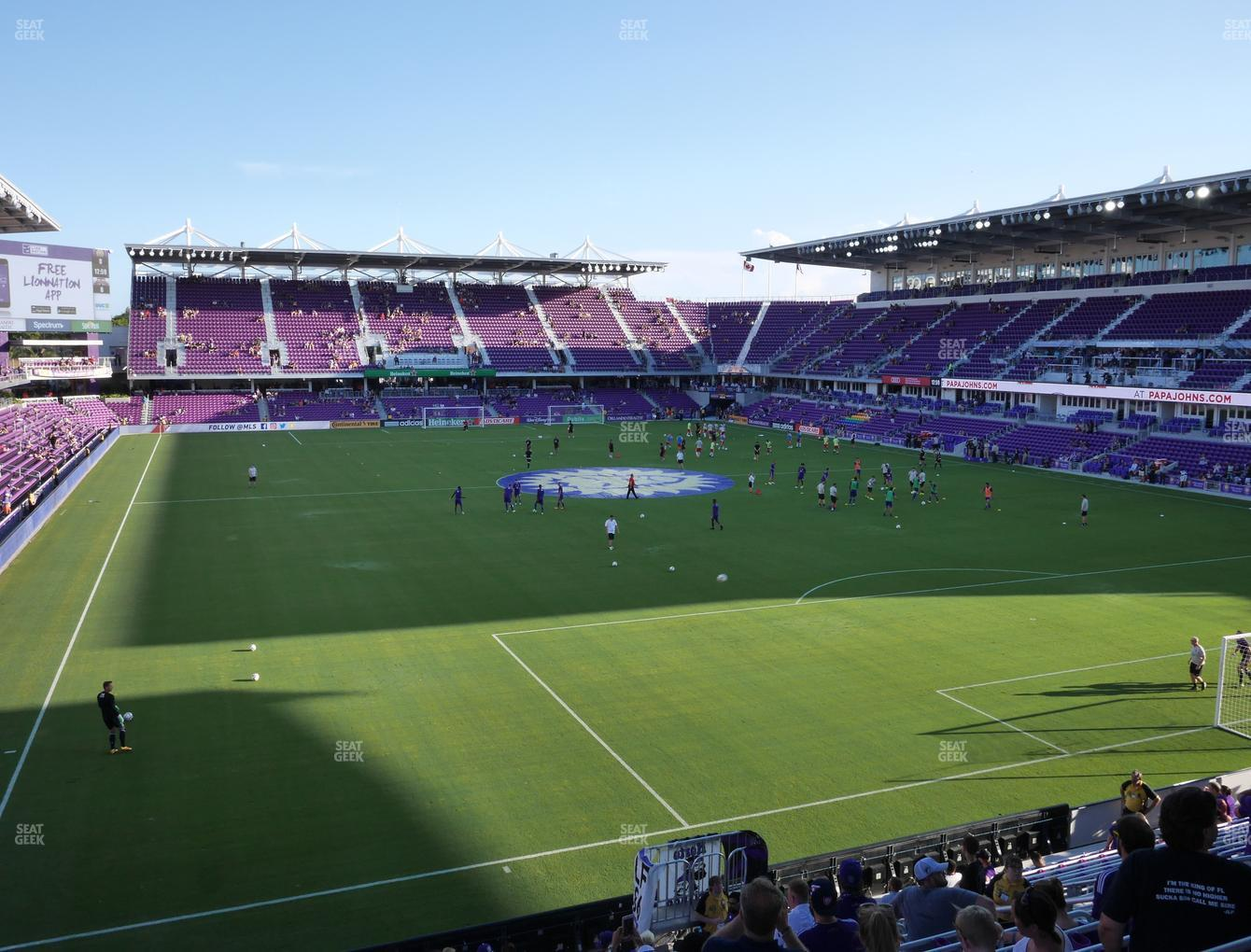 Orlando City SC at Exploria Stadium Safe Standing 27 View