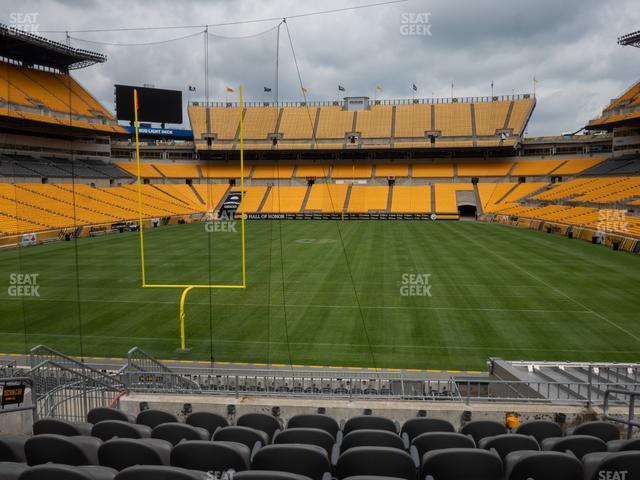 Heinz Field Section C 150 view