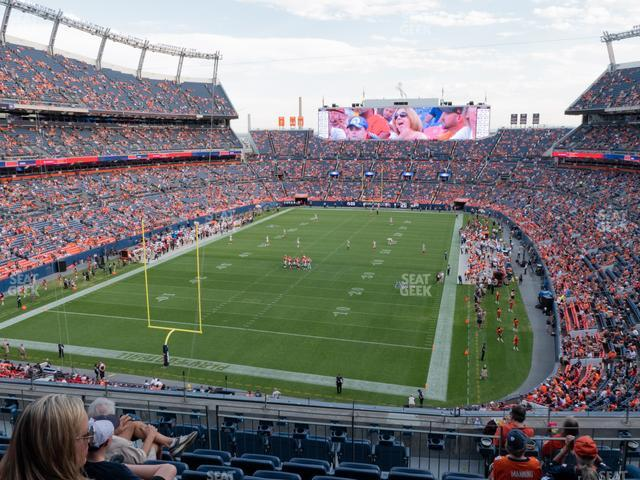 Empower Field at Mile High Section 321 view