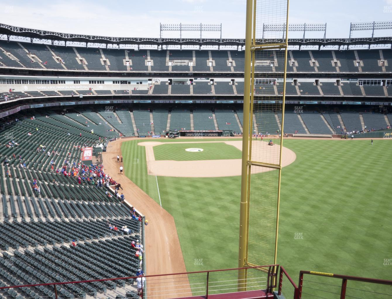 Concert at Globe Life Park Section 245 View
