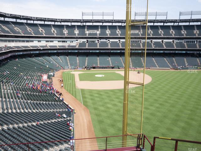 Globe Life Park Section 245 view