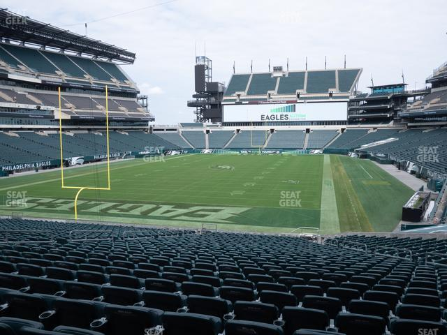 Lincoln Financial Field Section 111 view