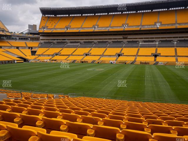 Heinz Field Section 136 view