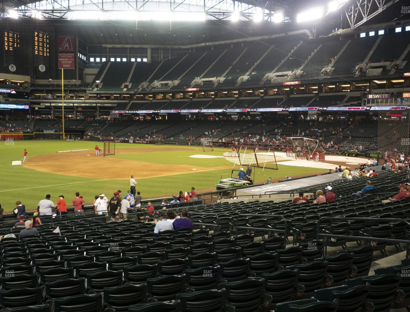 MLB at Chase Field Section 131 View