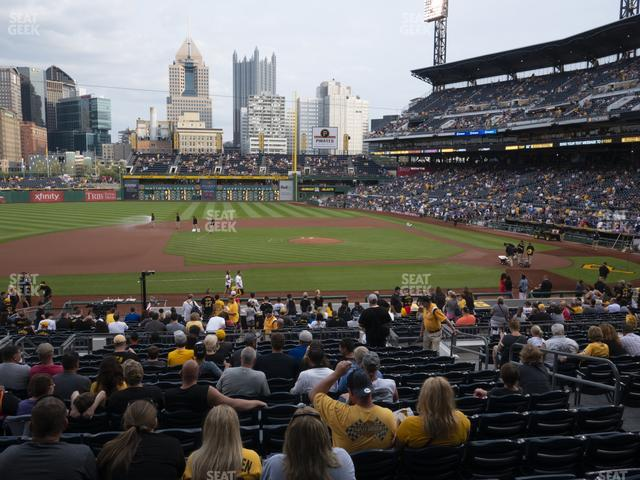 PNC Park Section 123 view