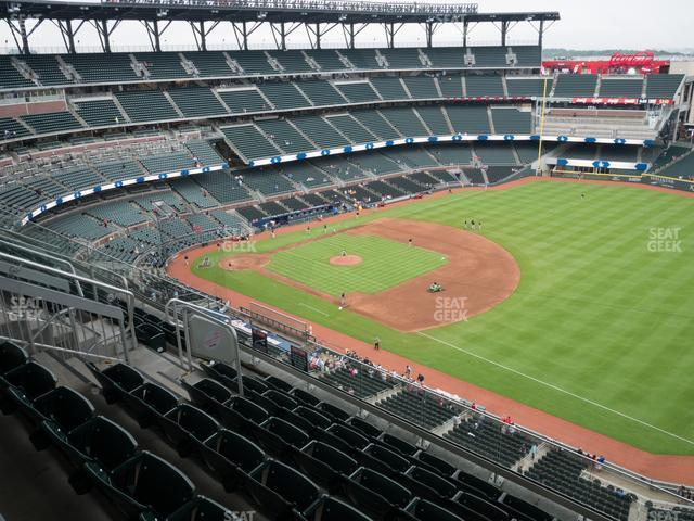 SunTrust Park Section 414 view