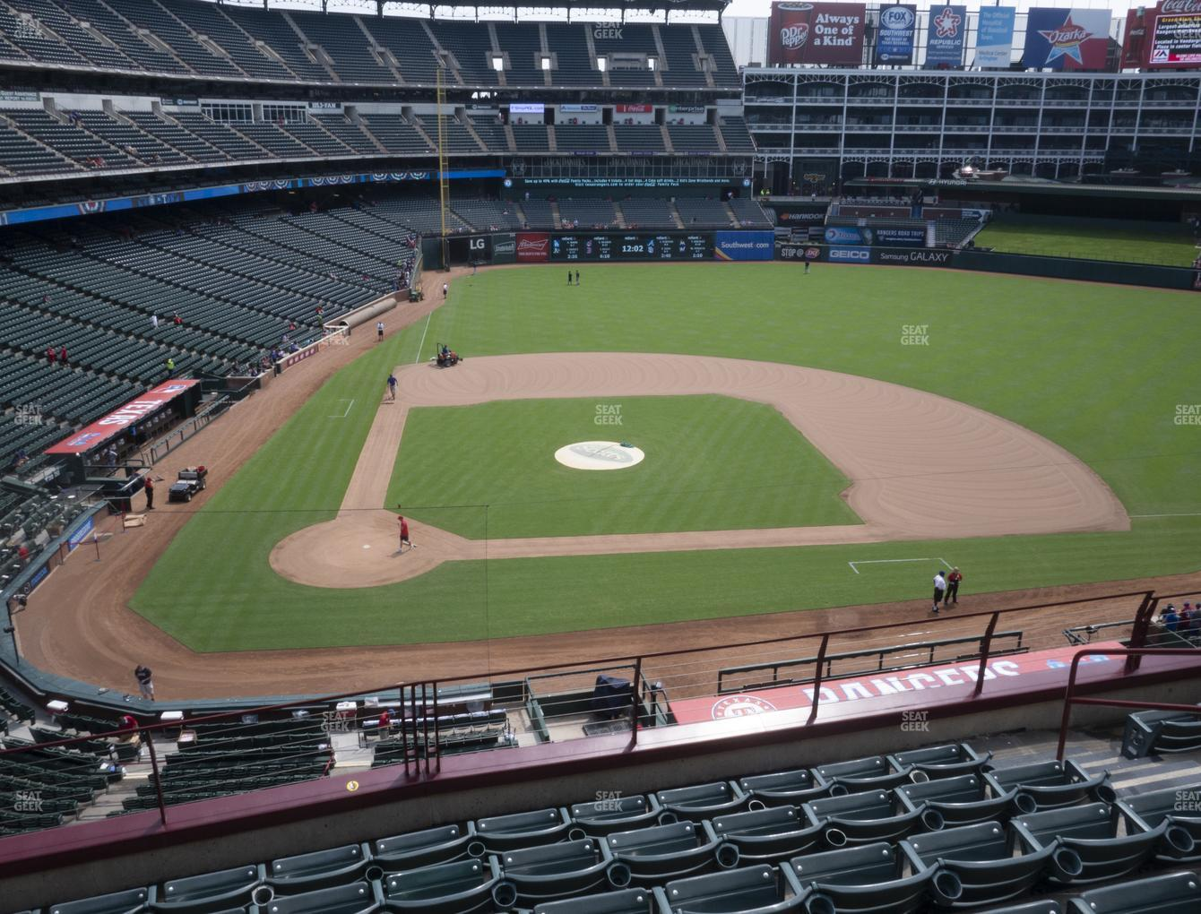 International Champions Cup at Globe Life Park Section 231 View
