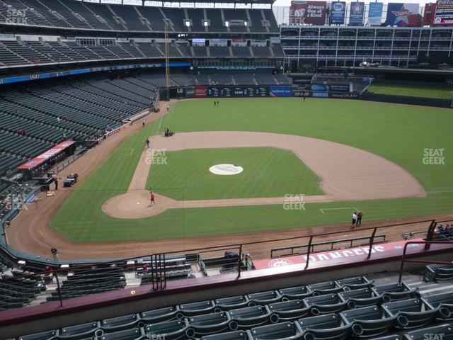 Globe Life Park Section 231 view