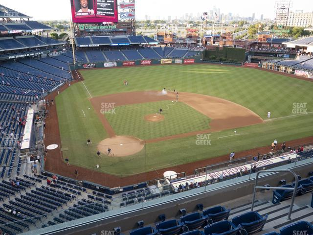 Citizens Bank Park Section 318 view