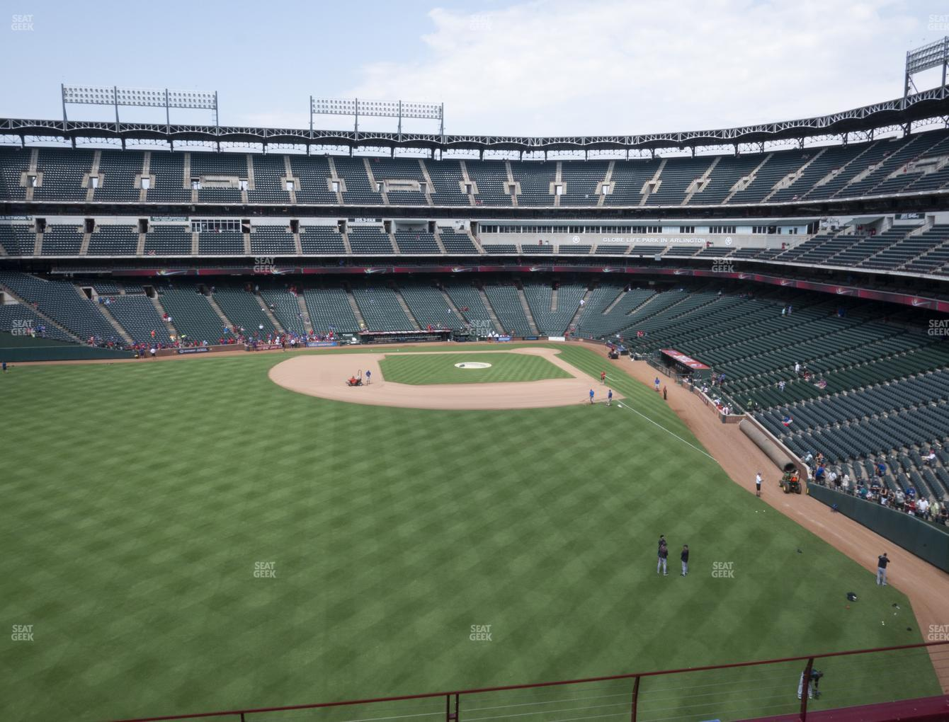 International Champions Cup at Globe Life Park Section 203 View