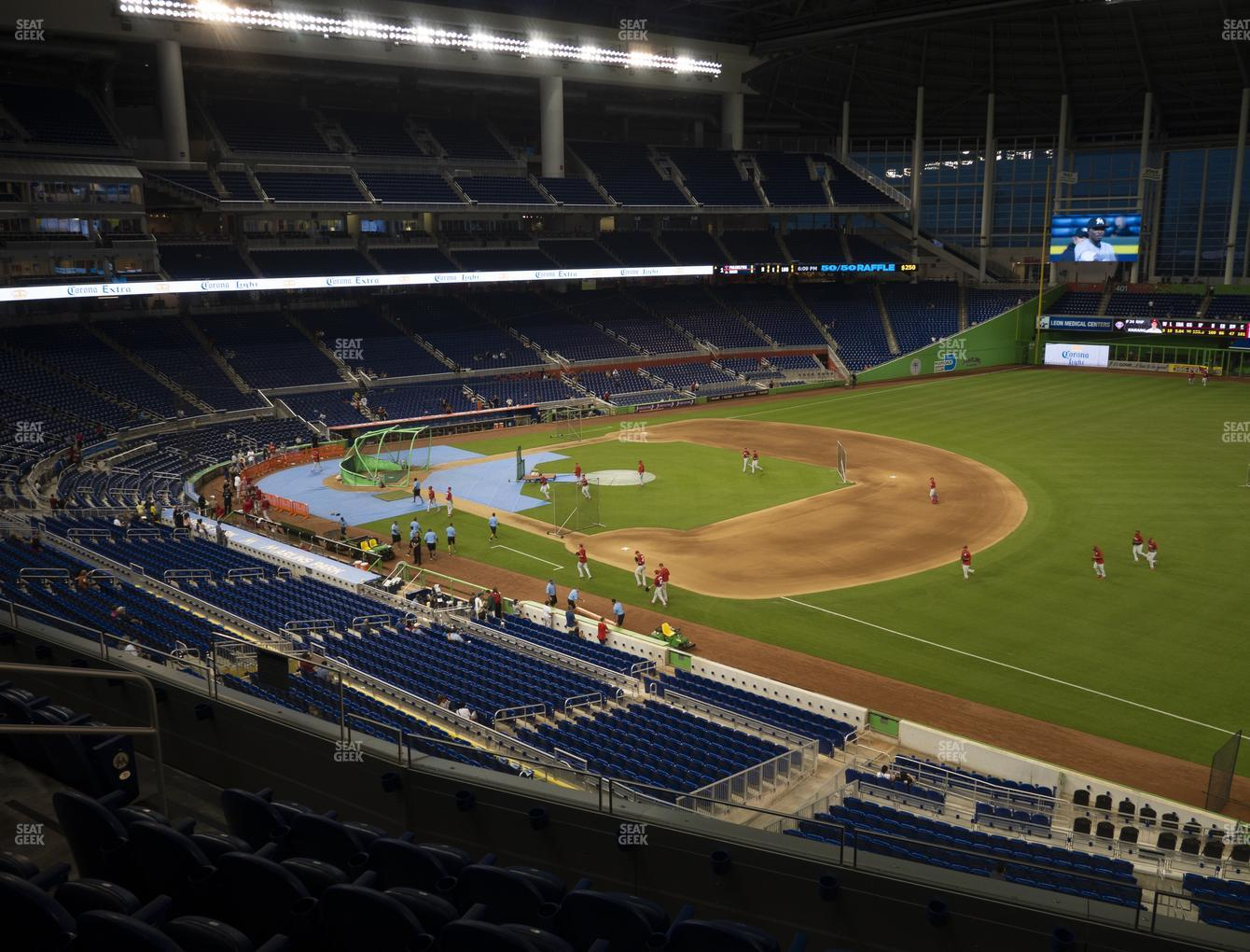 Marlins Park Section 205 Seat Views Seatgeek