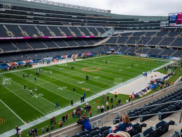 Soldier Field Section 343 view