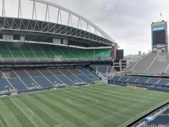 CenturyLink Field Lower 314 view