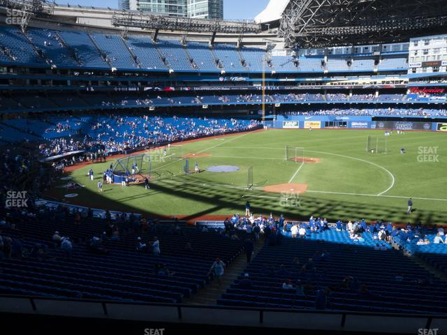 Rogers Centre Section 217 R view