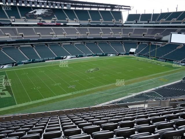 Lincoln Financial Field Section C 37 view