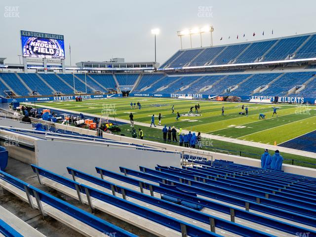 Kroger Field Section 30 view