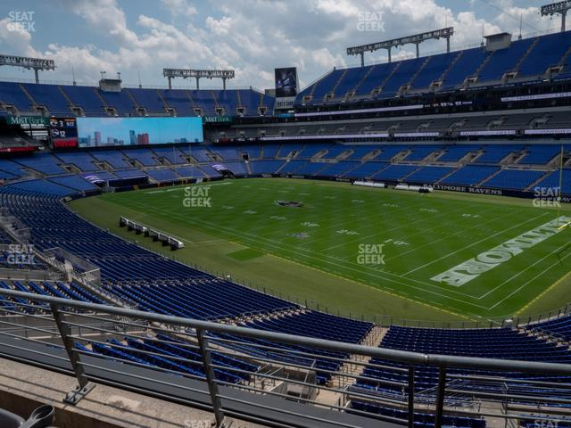 M&T Bank Stadium Section 247 view