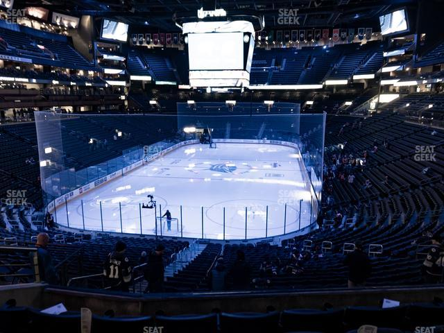 Nationwide Arena Section Club 11 view