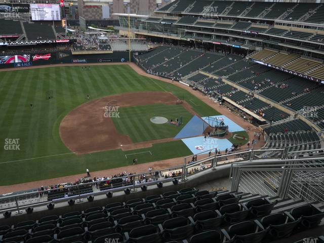 Target Field Section 322 view